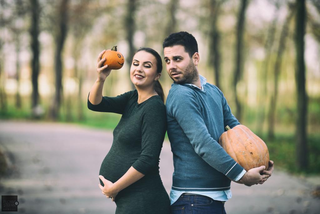 Sedinta prenatala Lavinia si Andrei