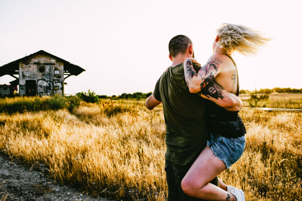 Rox & John – One tattooed couple!